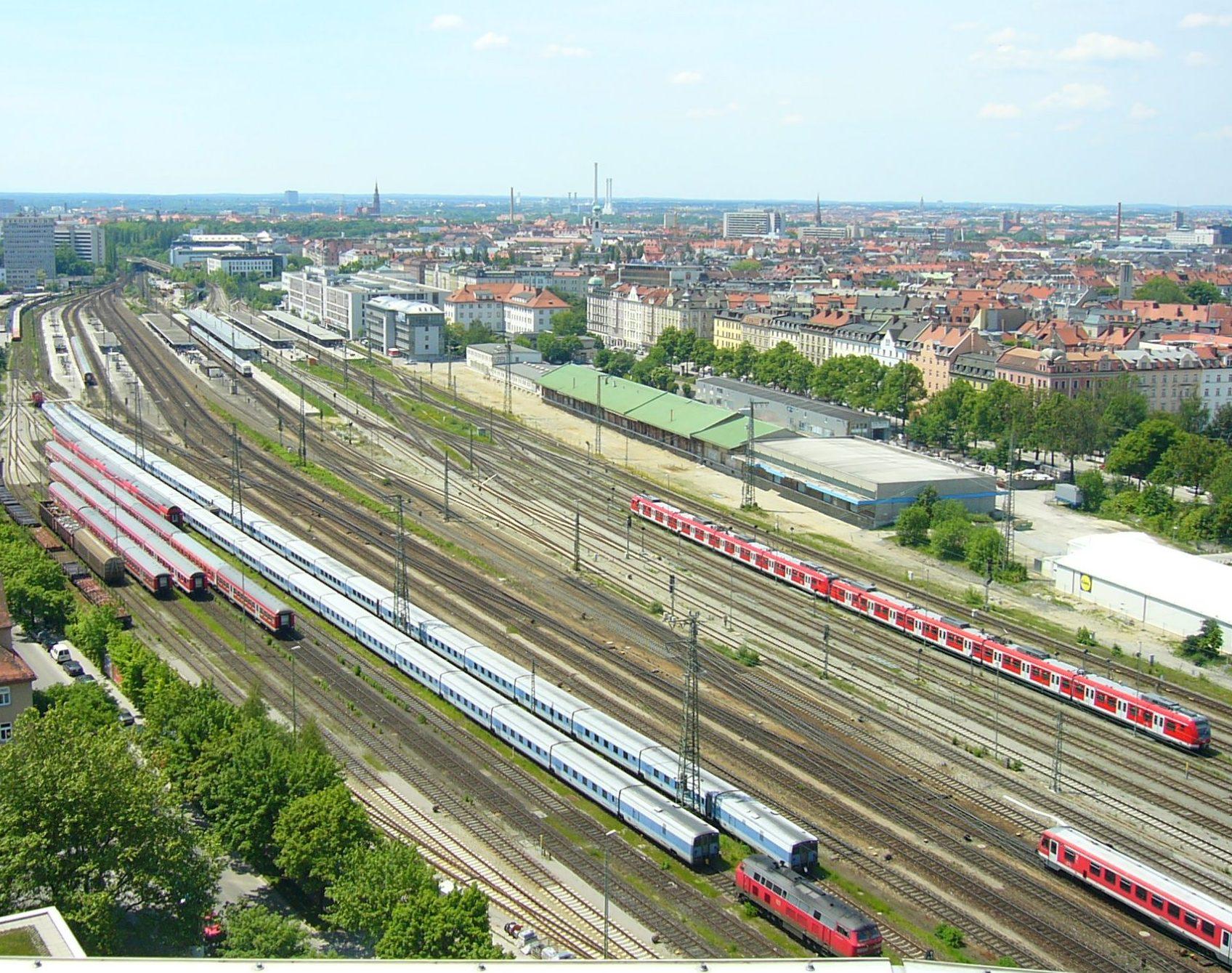 станция в Мюнхене