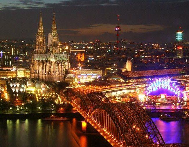город Кёльн. Германия