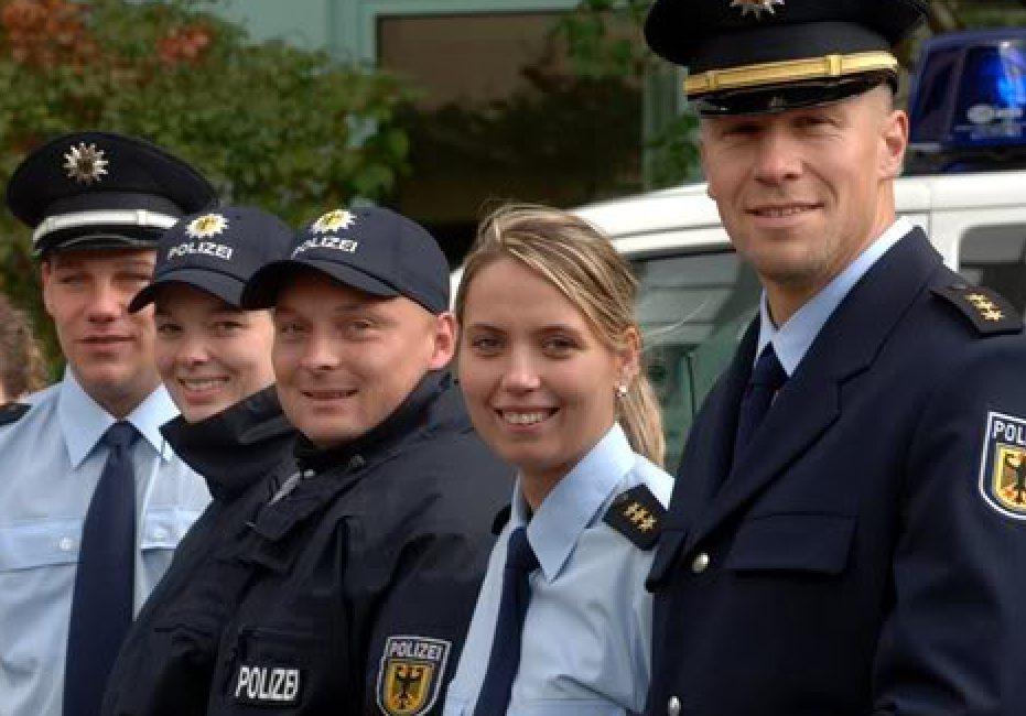 работа полицейским в германии