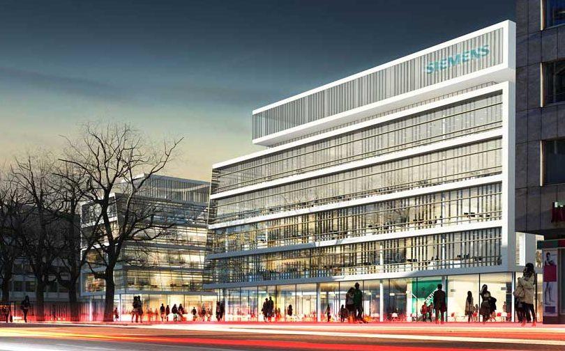 Отделение Siemens в Мюнхене
