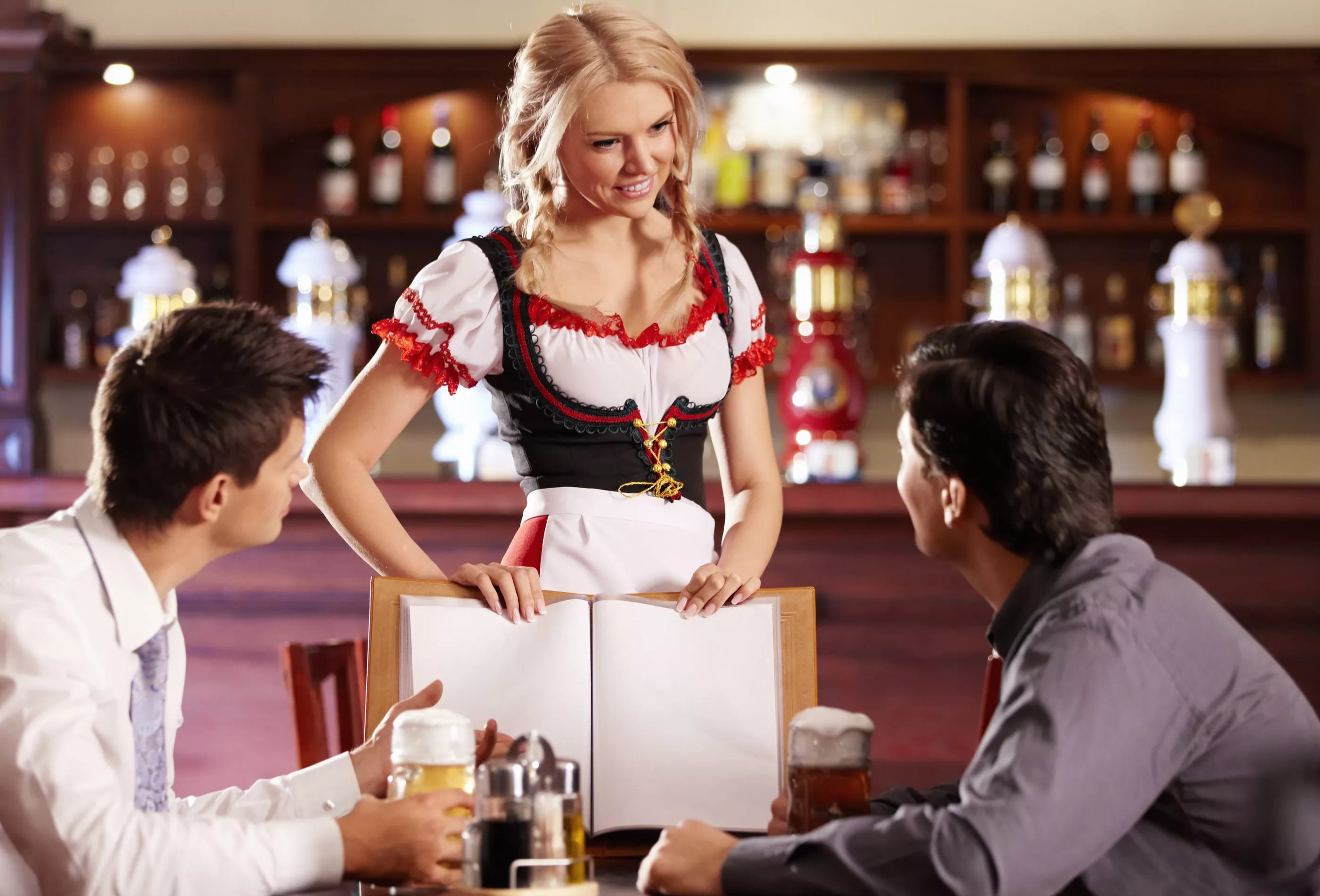 Работа в немецком пабе
