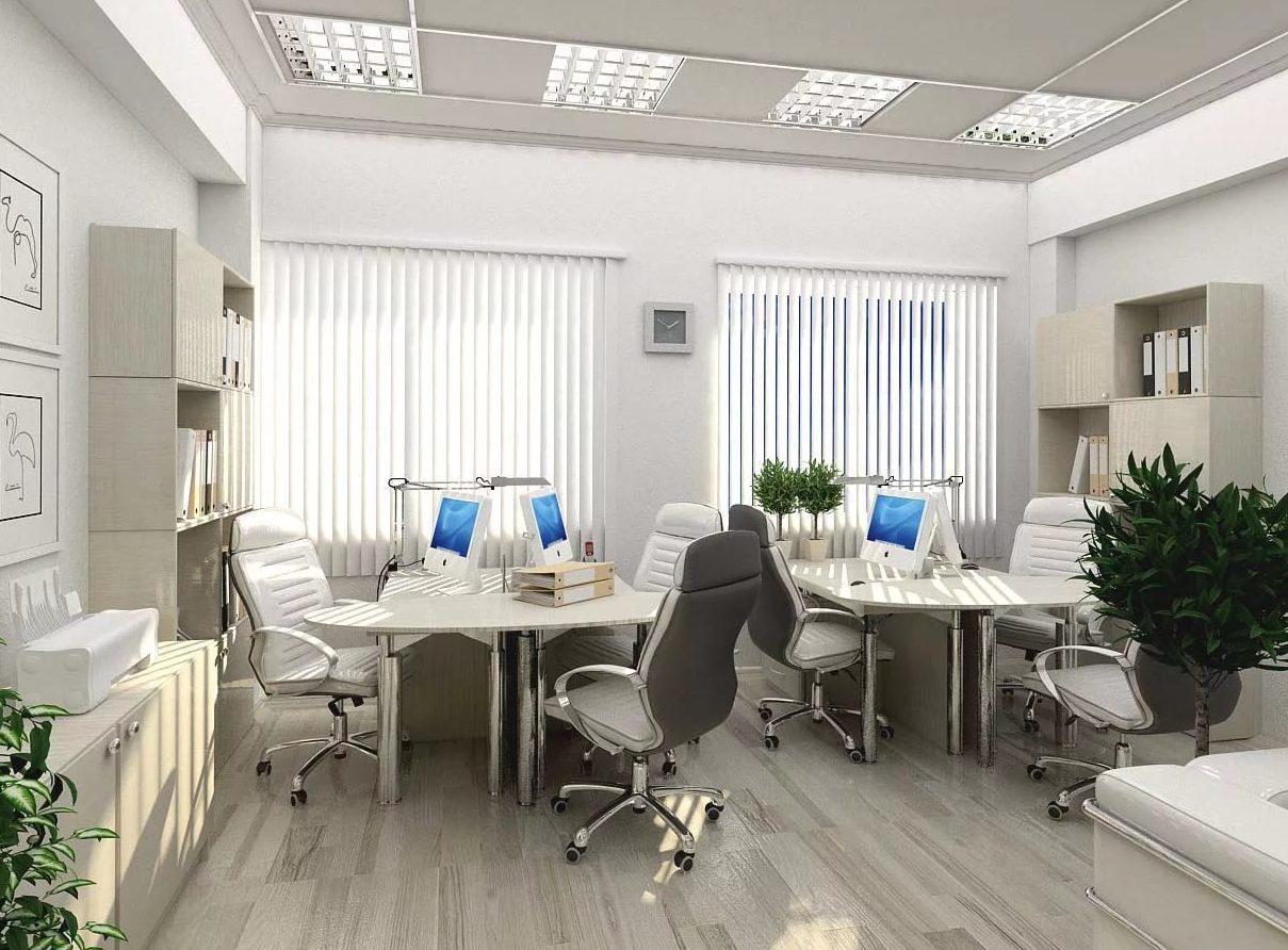 фото светлого офиса который