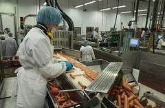 Работа на мясной фабрике в Freiburg, 1300€/мес
