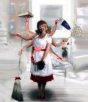 Примем на работу женщину - домохозяйку до 45 лет