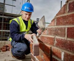 Работа в Германии каменщиком на стройке