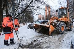 Уборка снега строительные работы водитель охранник